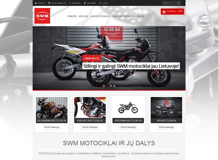 Motofun.lt - prekyba naujais SWM motociklais